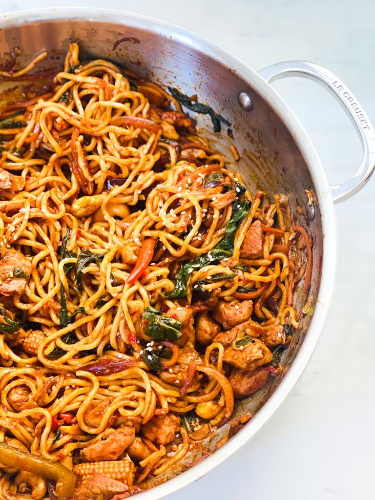Samyang Chicken Stir Fry Noodles
