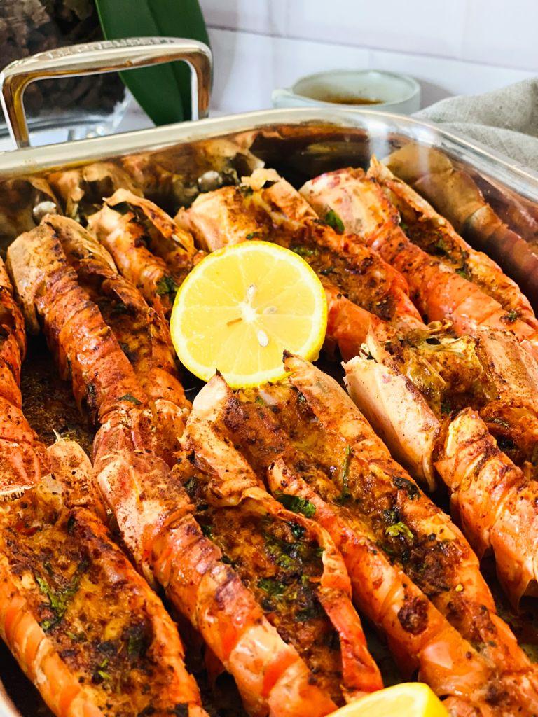 Seafood Masala Grilled Langoustines